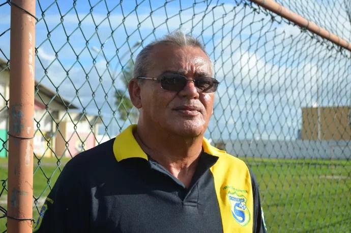 Washington Alcino, presidente do Socorrense (Foto: Felipe Martins)