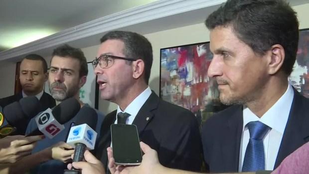 Rivaldo Barbosa, novo chefe da Polícia Civil, diz que morte de Marielle Franco 'atenta contra a democracia' (Foto: Reprodução / TV Globo)