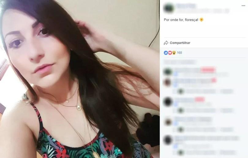 Segundo a Santa Casa, Bruna foi vítima de aneurisma aorta abdominal (Foto: Reprodução/Facebook)