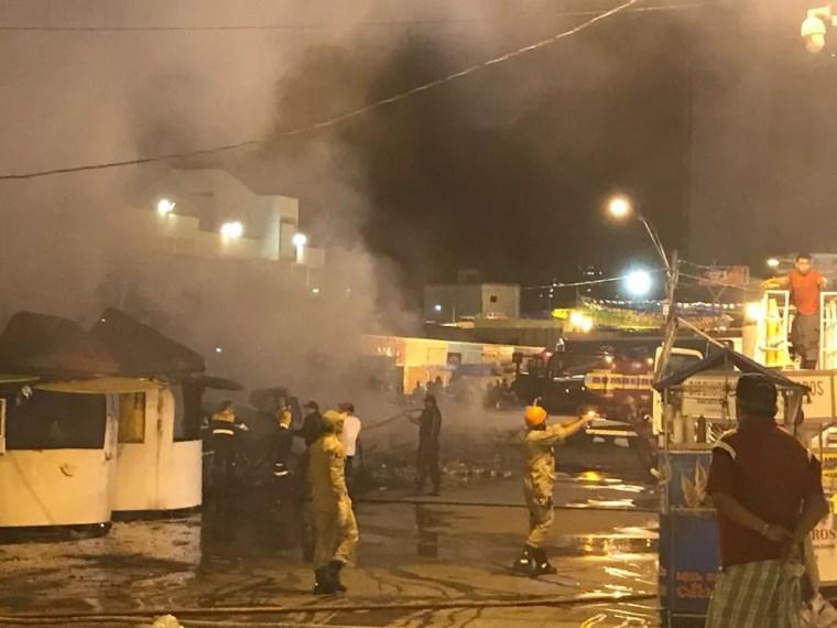 Até segunda ordem dos Bombeiros, São João 2018 de Campina Grande está cancelado, diz polícia (Foto: Artur Lira/G1)