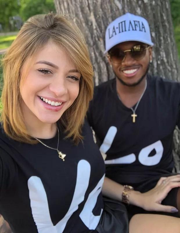 Fred e Monique (Foto: Reprodução)