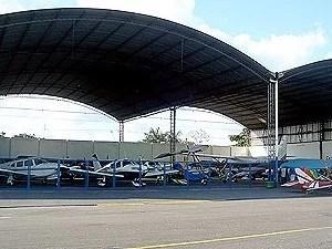 Sede do Aeroclube de Manaus (Foto: Reprodução/ACA)
