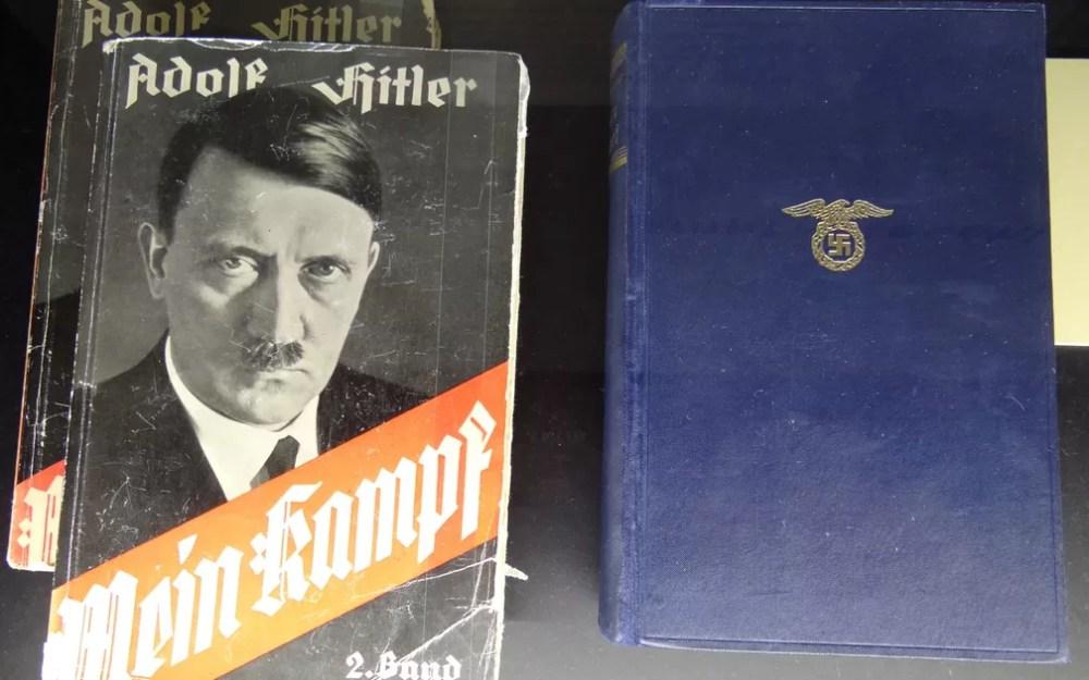 Apesar de promover imagem frugal junto à sociedade alemã, Hitler amealhou fortuna com direitos autorais de seu livro Minha Luta — Foto: Adam Jones/Creative Commons