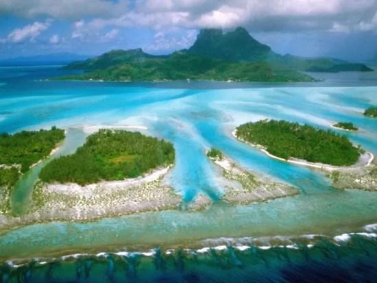Ilha de Bora Bora (Foto: Creative Commons/MakeMake)