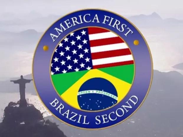 Tá no Ar: America First, Brazil Second (Foto: Reprodução/Gshow)