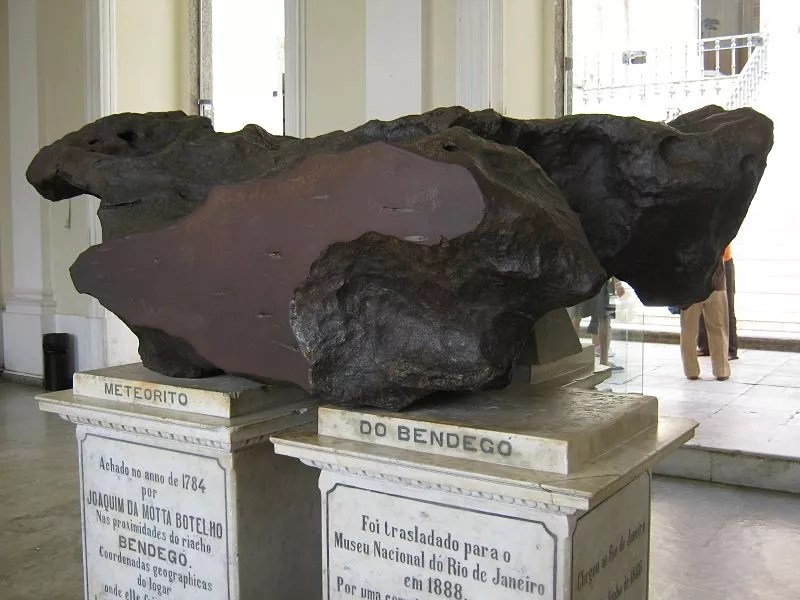 Meteorito do Bendegó (Foto: Wikimedia Commons)