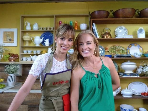 Ana Furtado e Angélica (Foto: Estrelas/TV Globo)