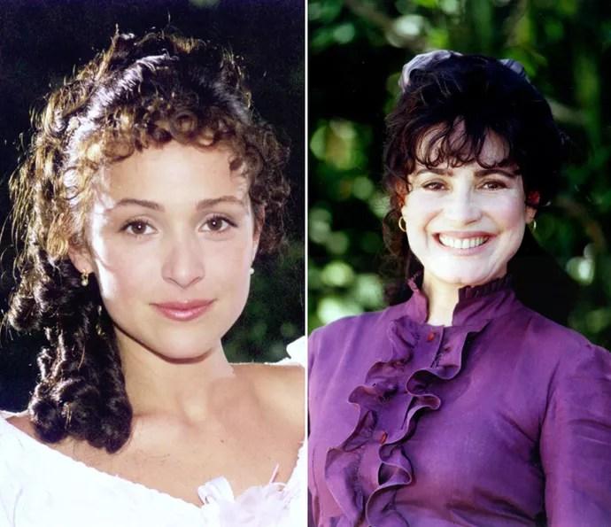 Chiquinha Gonzaga foi o primeiro papel que Gabriela e Regina dividiram (Foto: CEDOC/TV Globo)