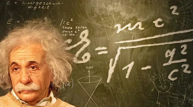 Para Albert Einstein, quem arrisca não petisca. Veja abaixo (Foto: Reprodução)