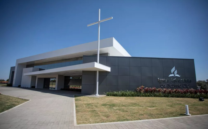 Colégio da cidade de Engenheiro Coelho é um dos 16 da rede adventista que funcionam no Brasil (Foto: Fabio Tito/ G1)