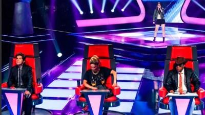 Swellen Pimentel escolheu Daniel como seu técnico no The Voice Brasil 2 (Foto:  Isabella Pinheiro/TV Globo)