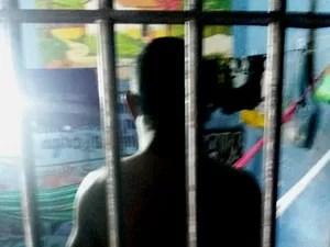Suspeito permanece preso na delegacia de Juruti (Foto: Divulgação/Polícias Civil Juruti)