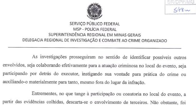 Inquérito, ao qual TV Globo teve acesso, conclui que agressor de Bolsonaro agiu sozinho no local do crime — Foto: Reprodução