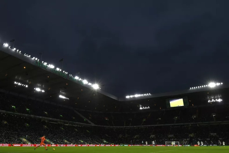 Celtic Park, casa do Celtic — Foto: Getty Images