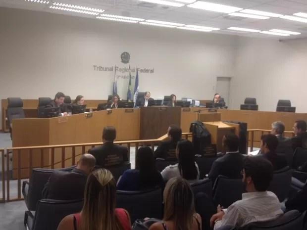 julgamento juiz de eike (Foto: Cristina Boeckel/G1)