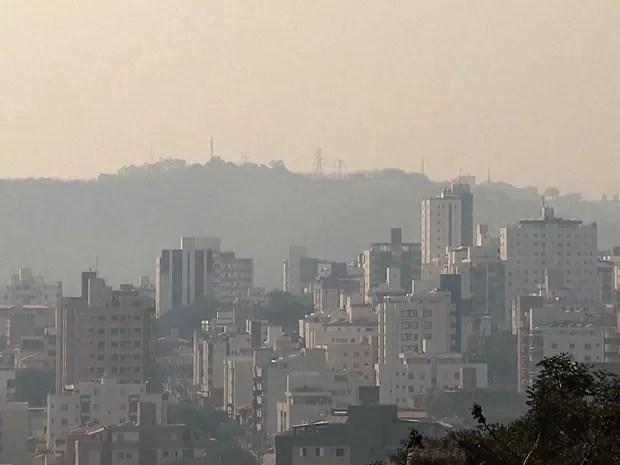 Belo Horizonte tem recorde de temperatura com 36°C nesta terça-feira (Foto: Reprodução / TV Globo)