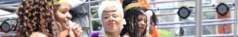 Banda Didá durante o carnaval de Salvador — Foto: Sérgio Pedreira/Aghaack