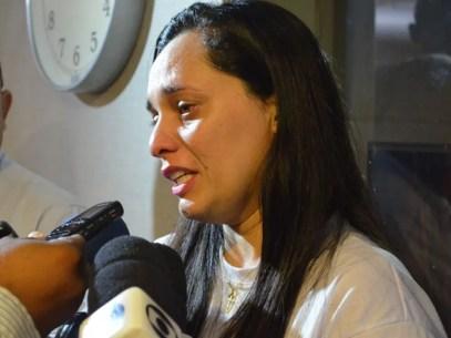 Isania Monteiro agradeceu apoio dado pelos movimentos sociais — Foto: André Resende/G1