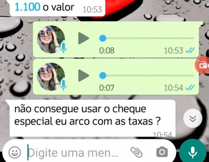 Mulher depositou dinheiro acreditando que ajudava amiga — Foto: Reprodução/TV Bahia