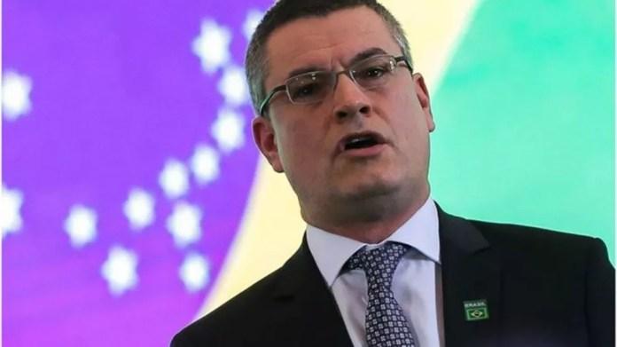 Delegado de carreira, Valeixo era diretor da PF desde novembro de 2018 — Foto: JOSÉ CRUZ/AGÊNCIA BRASIL