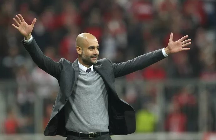 Pep Guardiola técnico Bayern (Foto: Getty Images)