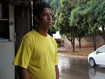 Morador de Ceilândia defende mais policiais nas ruas no combate às drogas (Foto: Ricardo Moreira/G1)