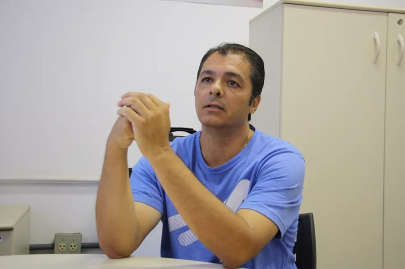 Rocha mudou de vida após tratamento — Foto: IFSC/USP