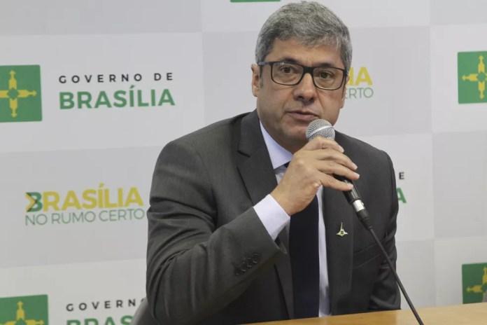 Secretário de Fazenda do Distrito Federal, Wilson de Paula (Foto: Toninho Tavares/Agência Brasília)