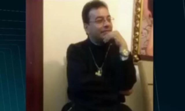 Padre Pedro Gomes Bezerra foi morto com pelo menos 29 facadas, em Borborema, na Paraíba (Foto: Reprodução/TV Cabo Branco)