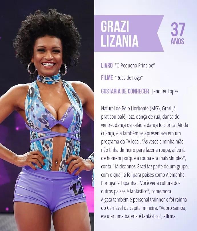 Saiba mais sobre Grazi Lizania (Foto: Arte: Thays Malcher)