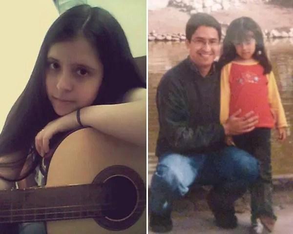 A argentina Micaela foi abusada pelo próprio pai durante 12 anos (Foto: Reprodução Facebook)
