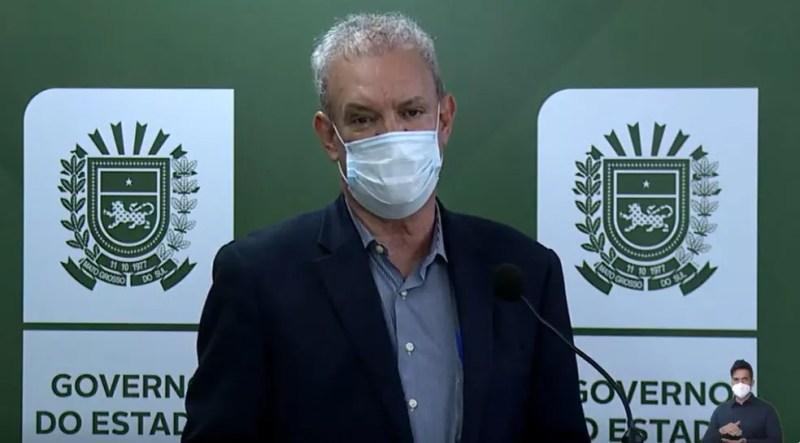 Secretário de Saúde de MS, Geraldo Resende — Foto: Redes Sociais/Reprodução