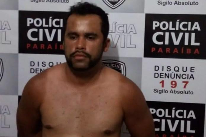 Criminoso preso era um dos mais procurados do ES — Foto: Divulgação/Polícia Civil