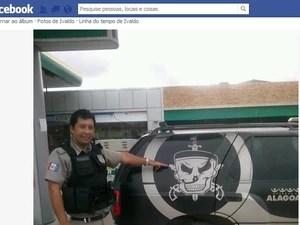 Ivaldo Oliveira da Silva foi morto com um tiro na cabeça. (Foto: Reprodução/Facebook)
