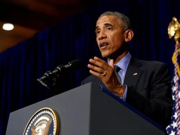 Presidente dos Estados Unidos, Barack Obama, participou de conferência de encerramento de Asean, no Laos (Foto: Jonathan Ernst/ Reuters)