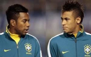robinho parabeniza Neymar pelo seu aniversário (Foto: Reprodução )