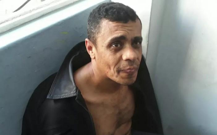 Adelio Bispo de Oliveira foi preso após ter esfaqueado Jair Bolsonaro em Juiz de Fora — Foto: Reprodução/GloboNews