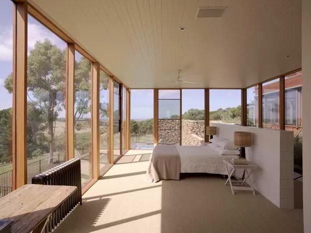 Vidro e pedra moldam lar na Austrlia  Casa Vogue  Casas