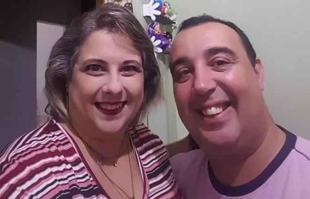 Rogérico e a noiva, Ana, precisaram adiar o casamento por conta do acidente (Foto: Reprodução/Facebook)