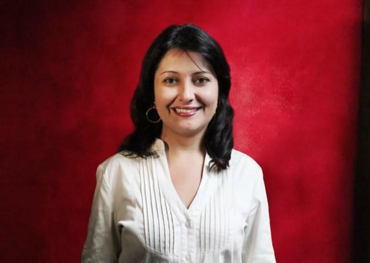 A professora Hellen Maluly (FOTO: DIVULGAÇÃO COMITÊ UMAMI)