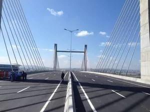BR-448 será inaugurada nesta sexta-feira (20), dia em que Dilma também assina melhorias na BR-290 (Foto: Luiza Carneiro/G1)
