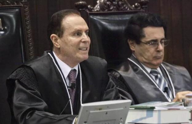 Clayton Camargo, ex-presidente do TJ-PR, teve processo arquivado por suspeita de tráfico de influência (Foto: Divulgação/TJ-PR)