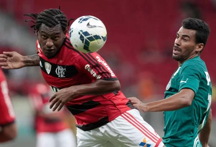 Amaral Flamengo x Goiás (Foto: Jorge William / O Globo)