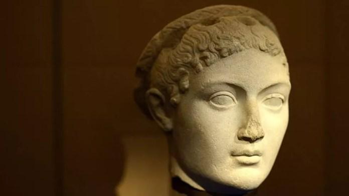 Nem mesmo a bela Cleópatra (69 a.C-30 a.C) foi poupada — Foto: Getty Images/Via BBC