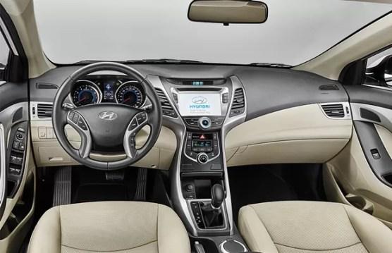 Hyundai Elantra 2016 interior