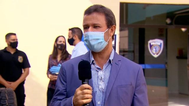 Diretor Instituto de DNA Criminal, Ralph Catrink. — Foto: Armando Falcão