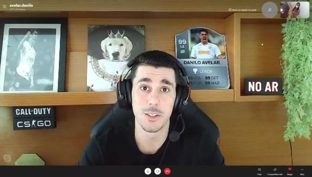 Corinthians decide rescindir com Danilo Avelar, que não joga mais pelo  clube após ato racista | corinthians | ge