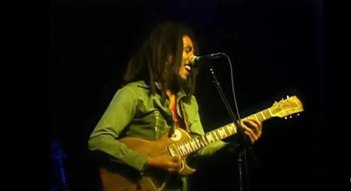 Show de Bob Marley de 1977 é remasterizado — Foto: Reprodução/YouTube
