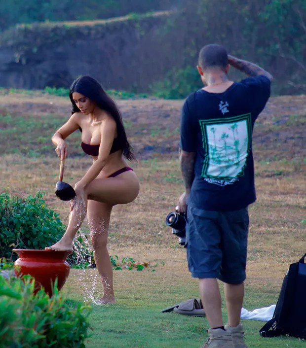 Kim Kardashian (Foto: The Grosby Group)