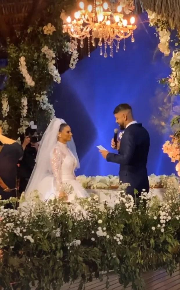 Viviane Araújo se casa com Guilherme Militão (Foto: Reprodução/Instagram)